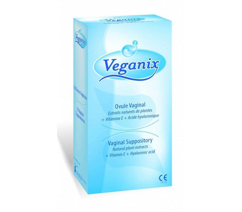 Veganix vaginale zetpillen tegen droogheid
