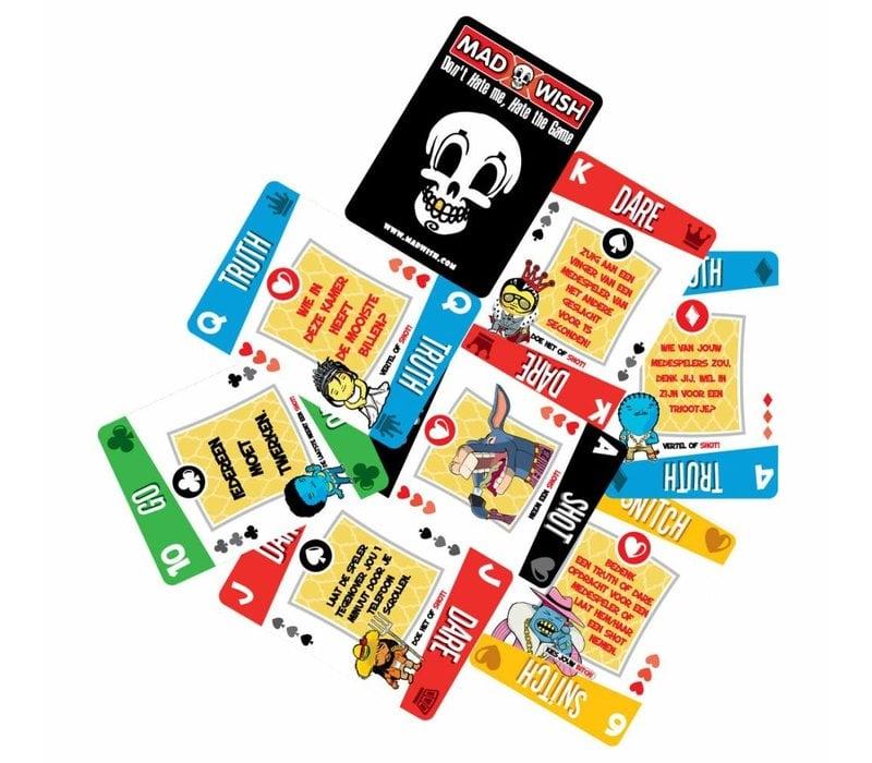 kaartspel met opdrachten