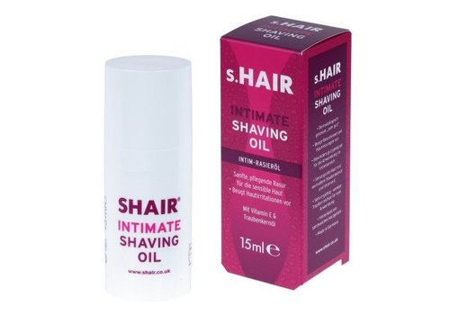 s.Hair Intimate Shaving Oil  (15ml) - scheerolie