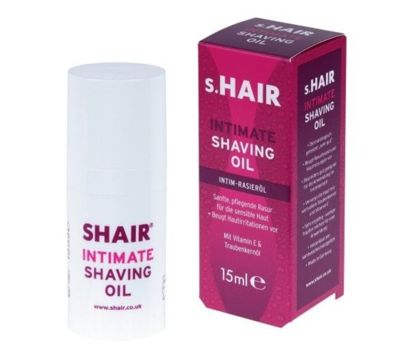 Intimate Shaving Oil  (15ml) - scheerolie