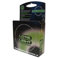 Love Light lichtgevend condoom - glow in the dark