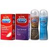 Durex Ultiem Gevoel Pakket: 12 Sensual condooms, 12 Sensitive Condooms, Play Sensitive 50ml en Real Feeling glijmiddel 50ml
