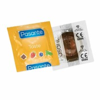 Chocolate Flavour condooms met chocoladesmaak
