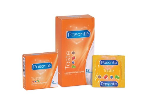 Pasante Taste Coloured & Flavoured