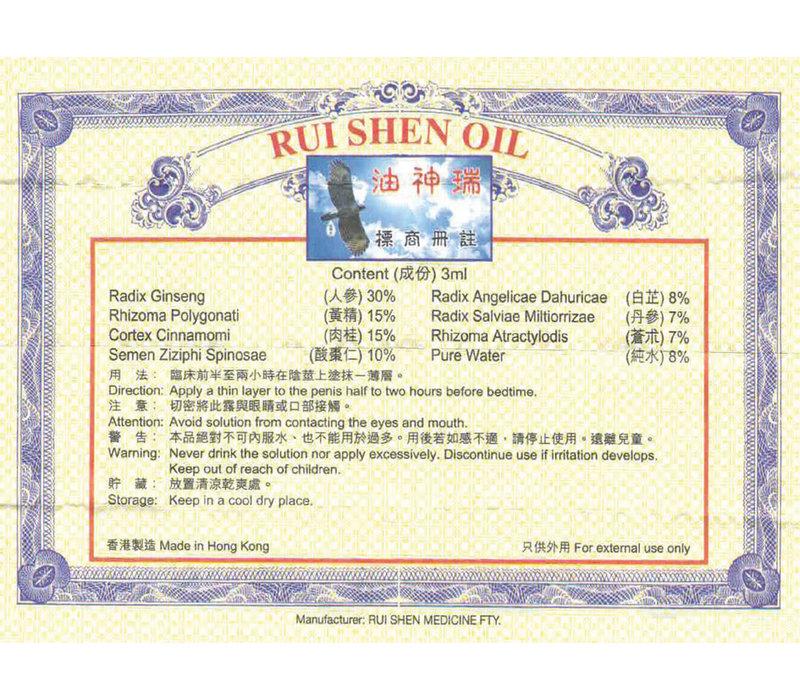 Rui Shen Oil (Suifan Kwang Tze Solution)