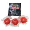 Gummy love rings met kersensmaak - 3 stuks