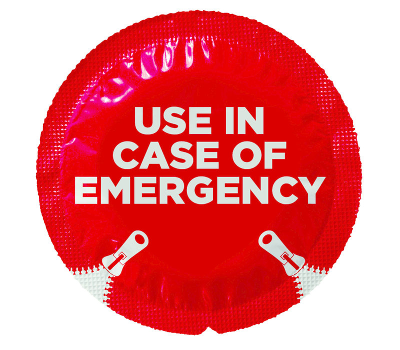 Use in case of emergency 12 standaard condooms
