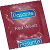 Pasante Red Velvet rood condoom