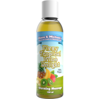 Vince & Michael's Fizzy Tropical Wine Delight flavored warming massage lotion (150ml)