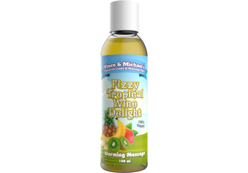 Swede Vince & Michael's Fizzy Tropical Wine Delight  verwarmende massage lotion