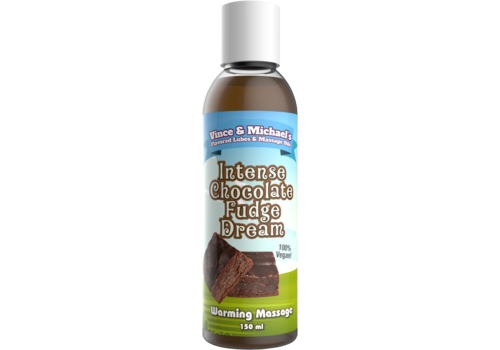 Swede Vince & Michael's Intense Chocolate Fudge Dream verwarmende massage lotion