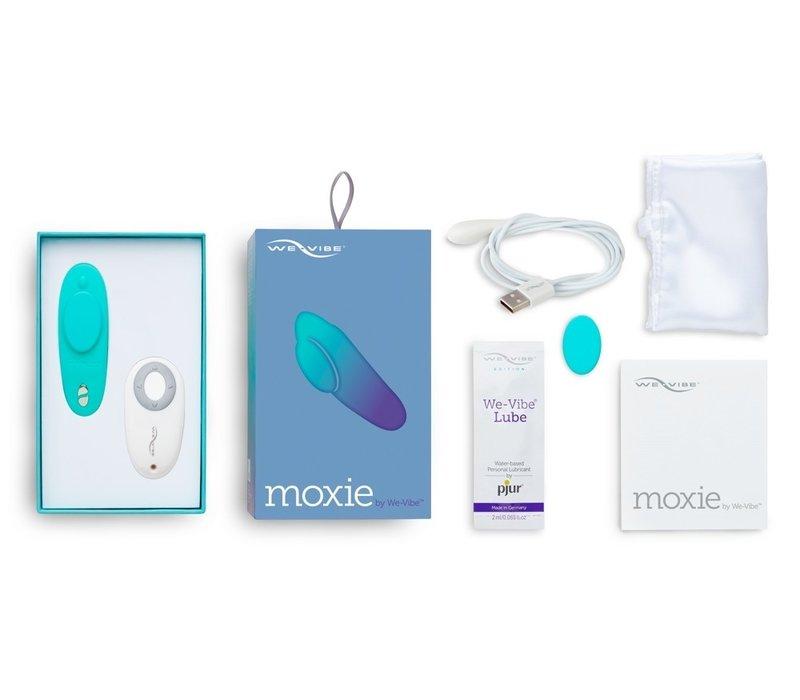 Moxie - afstandbestuurbare slip clitoris vibrator