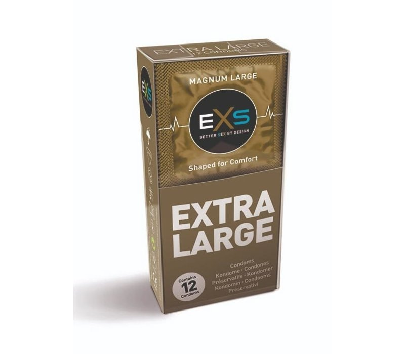 Magnum Extra Large condooms  (60mm)