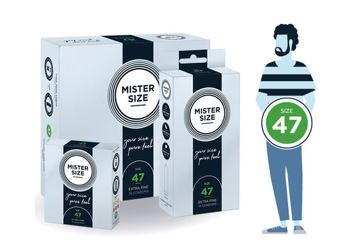 Mister Size 47 - ultra dun