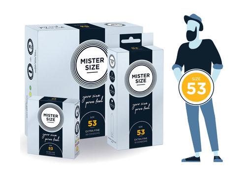 Mister Size 53 - ultra dun