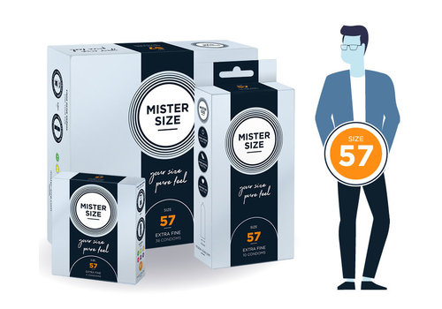 Mister Size 57 - ultra dun