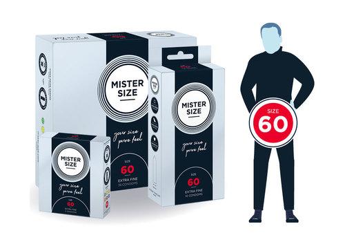 Mister Size 60 - ultra dun