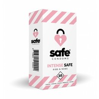 Intense condooms - met ribbels en nopjes