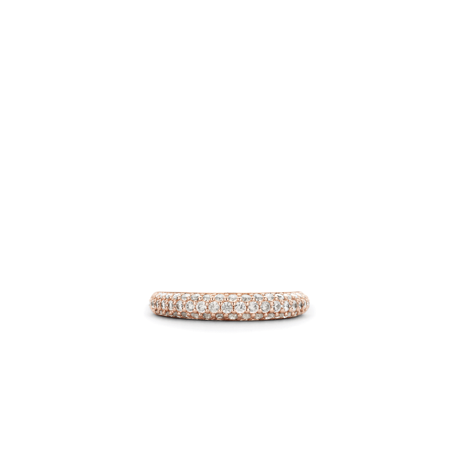 Ti Sento Milano Silver & Rose Gold Plated Mother of Pearl