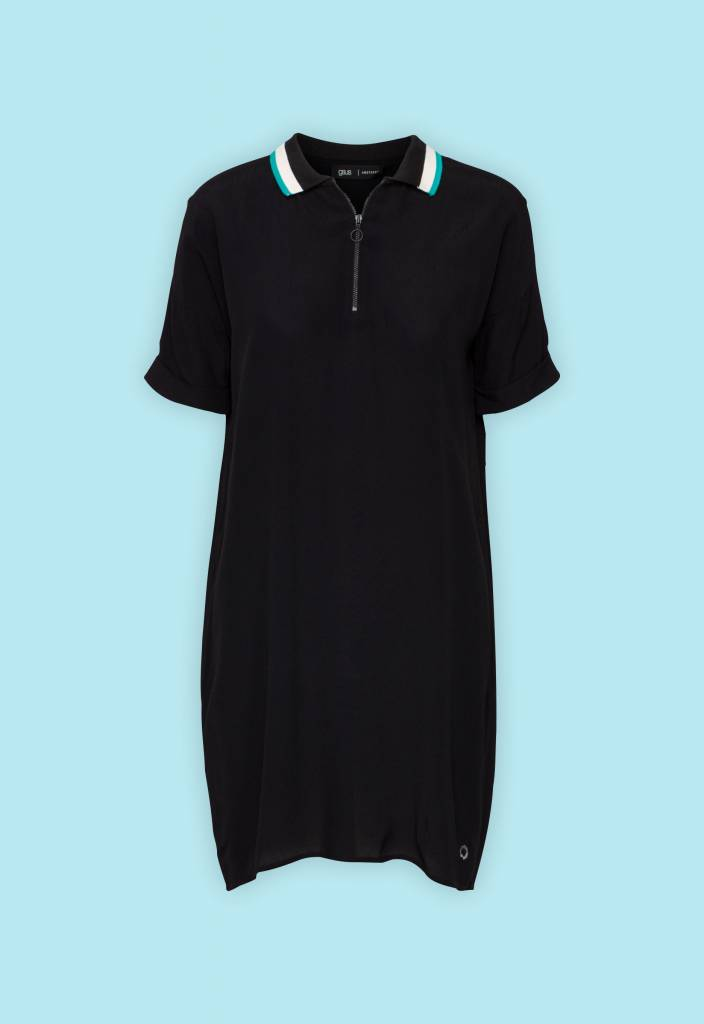 GSUS Polo Collar Dress