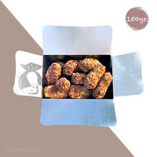150gr Belgische chocoladetruffels - schilfertruffels