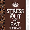Chocolade bedankje met 2 truffels