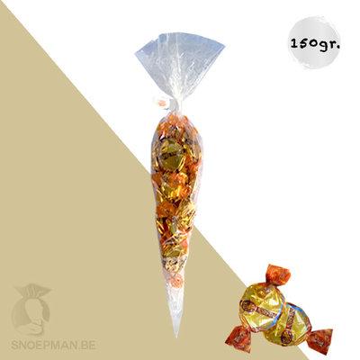Snoepzakje met 150gr Orfina caramellen