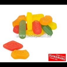 De Bron Lifestyle Candy  Suikervrij Winegums - 250 gr