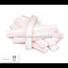 Confiserie à l'Ancienne  Confiserie à l'Ancienne - wit roze spekken (15cm)  - 250 gr