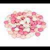 Chocolade Dragees hartjes roos-wit online kopen?