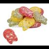 BUBS BUBS Sour Fruit Skulls Mix grootverpakking 3.4 kg