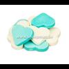 Fortuin Grote harten snoep blauw-wit van hofleverancier Fortuin - 3 kg