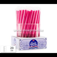Zuurstokken rood - roze met suikerlaag