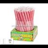 Rode snoepstokken met een suikerlaagje