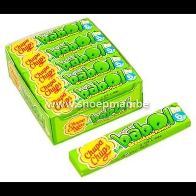 Chupa Chups Big Babol groene appel per stuk of per doos