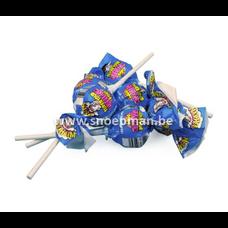 Warheads Blue Raspberry Bubblegum Pop 21 gr.