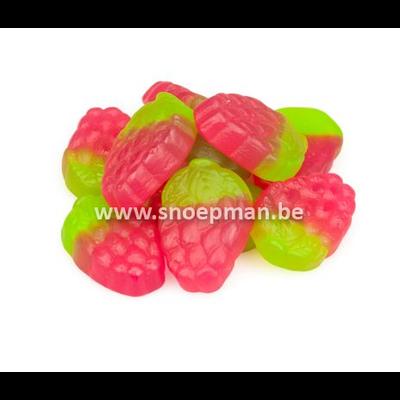Faam aardbeien 250 gr. in puntzakje