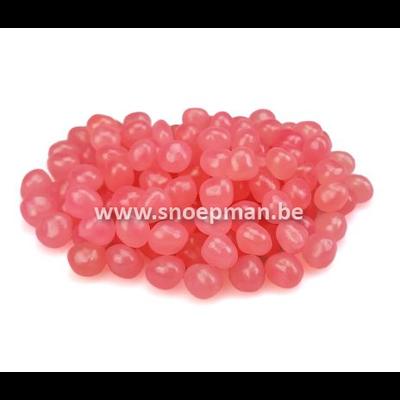 Roze dragibus van haribo in puntzakje van 250 gr. bestellen