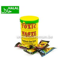 Toxic Waste Yellow Sour Candy Drum 42 gram