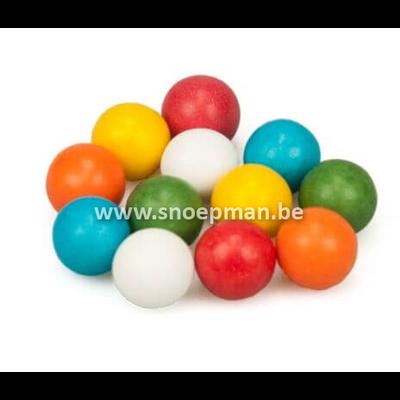 Grote kauwgomballen mix color 2,5 kg