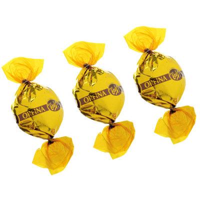 Trefin Orfina goudtoffees in een puntzakje 200 gr.