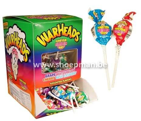 Warheads lollies