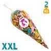 XXL snoepzak met zure snoepjes- 2 kg