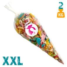 XXL  snoepzak met zure snoepjes