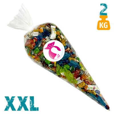 XXL snoepzak met Toffees van Trefin- 2 kg