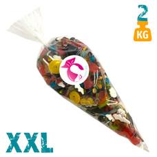 XXL snoepzak 2 kg met oliegommen