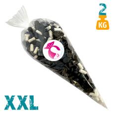 XXL snoepzak 2 kg met drop