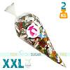 XXL snoepzak van 2 kg met suikervrijsnoep