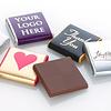 Gepersonaliseerde chocolade Neapolitan bedrukt met logo 5gr