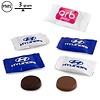 Gepersonaliseerde chocolade Neapolitan bedrukt met logo 3gr